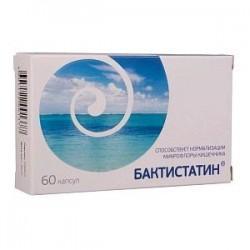 Бактистатин, капс. 500 мг №60
